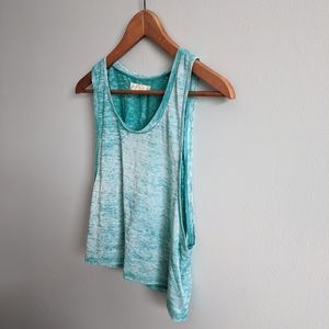 UO staring at stars loose fit cropped tank top